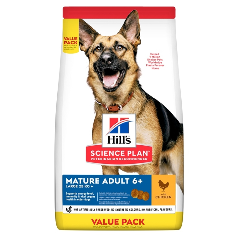 Croquettes canine mature grandes races 18 kg 51329