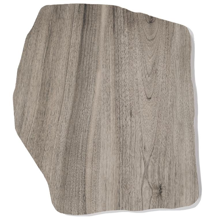 Pas japonais en céramique Holz gris 42x36x2 cm 523524