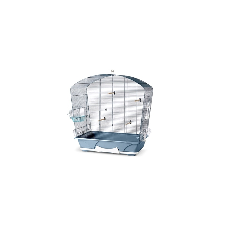Cage louise 50 bleu stone 53x32xH55 cm 523932