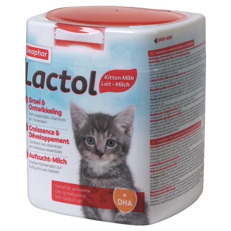 Lait maternisé pour chaton Lactol 500 g 526789