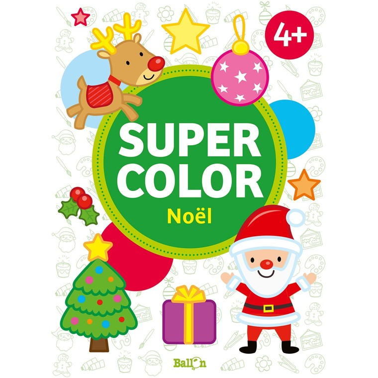 Supercolor Noël  Fleurus Ballon 527449