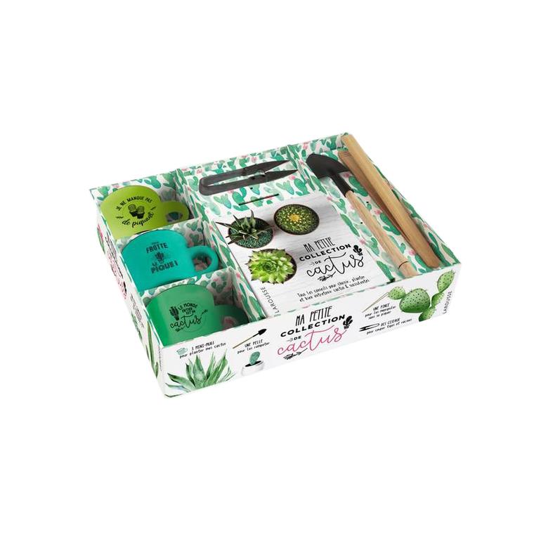 Ma Petite Collection de Cactus Coffret Larousse Hachette 527472