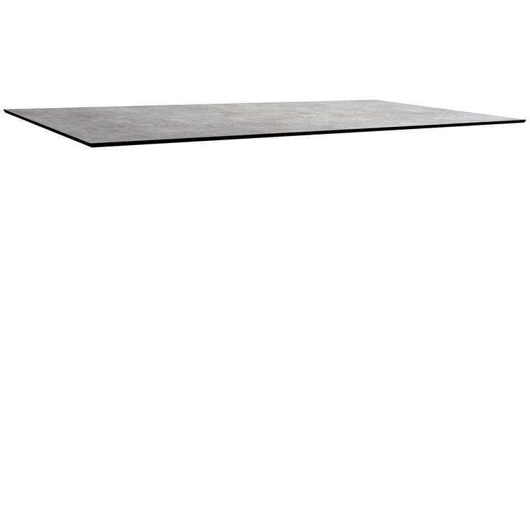 Plateau fin HPL gris metalic de 200 x 90 x 1,3 cm 528490