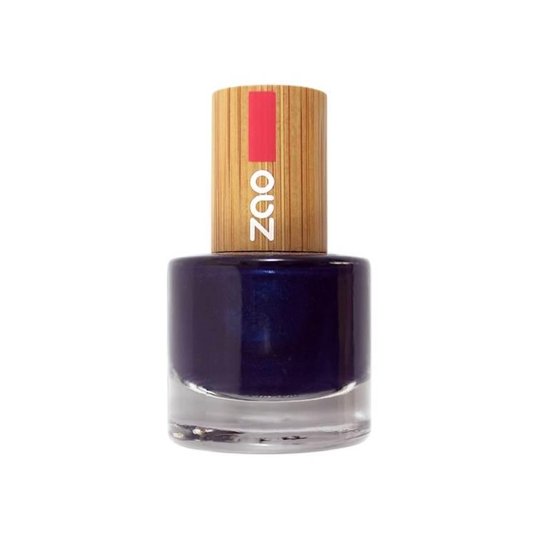 Vernis à ongles Bleu nuit 653 Zao - 8 ml 528796