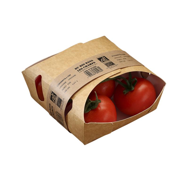 Tomate grappe bio de France - Barquette de 500g 52888