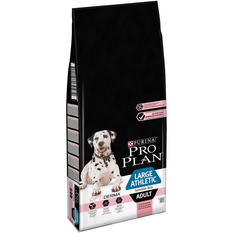 Croquettes pour chien PP Dog Large Adult Athletic Optiderma 14 kg 529183