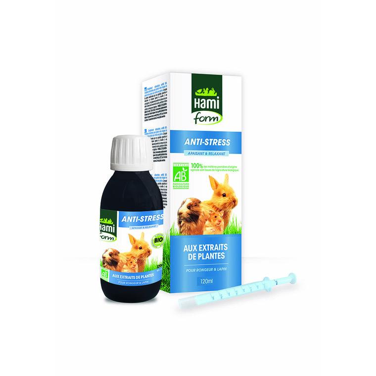 Complément alimentaire anti stress bio pour rongeurs de 120 ml 529206