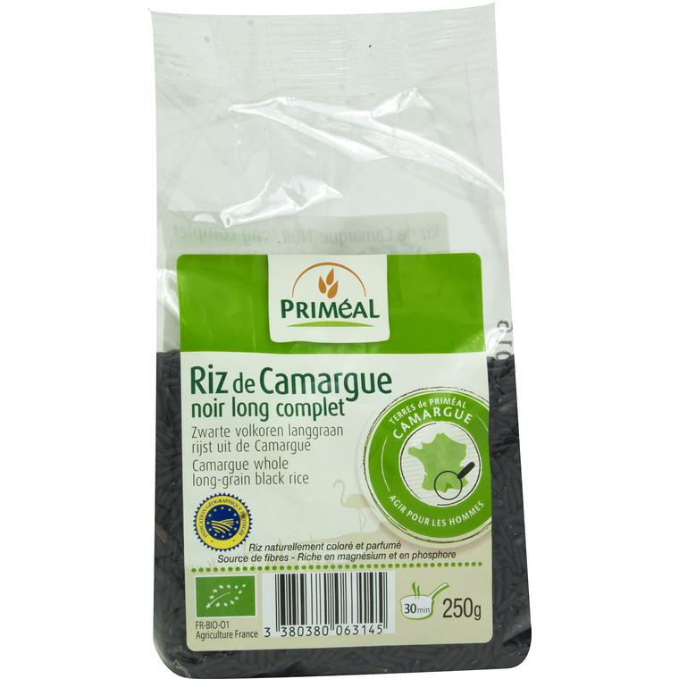 Riz noir de Camargue 250 g PRIMEAL 52977