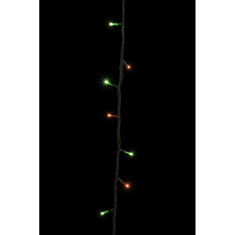 Guirlande Flicker  lumineuse rouge et verte 8 mètres