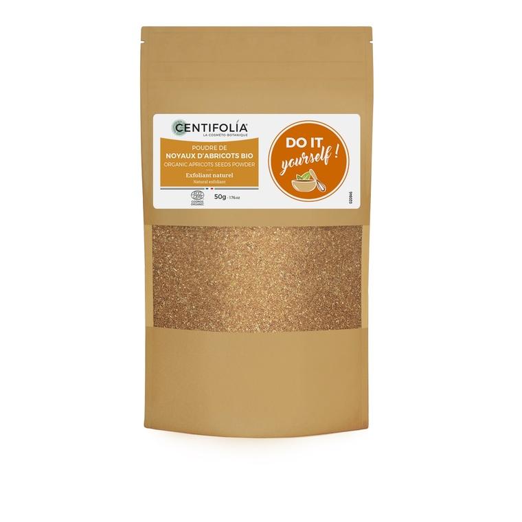 Poudre de noyaux d'abricots bio en sachet de 50 g 533849