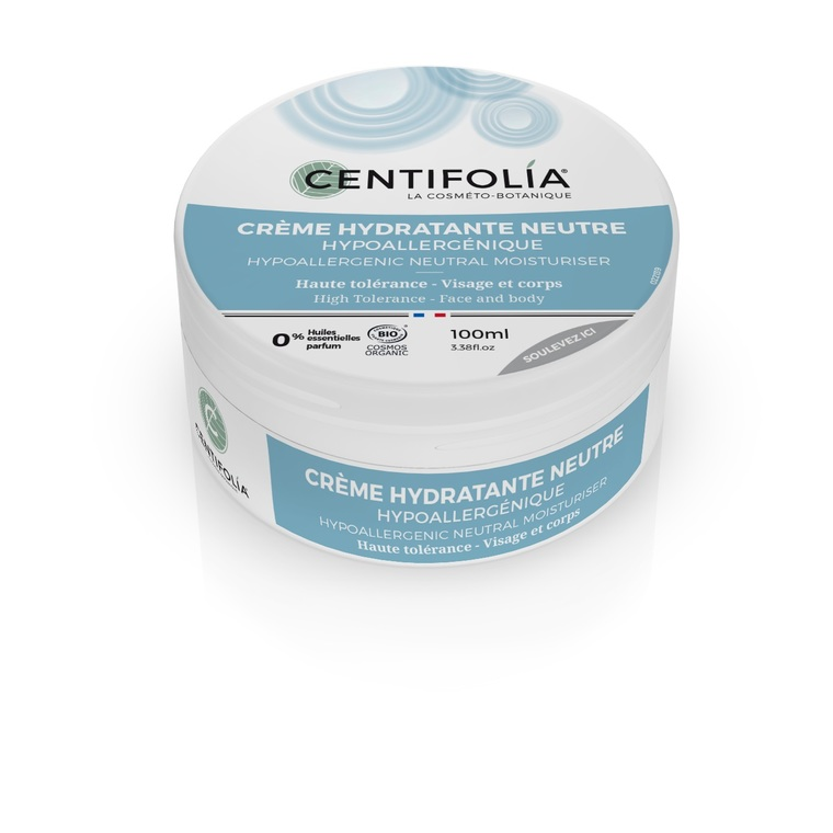 Crème hydratante neutre en pot de 100 ml 533865