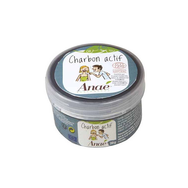 Charbon actif en pot de 30 g 533898