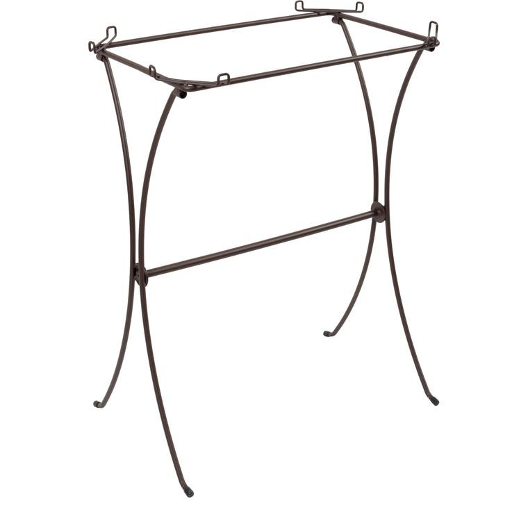 Pied pour cage rétro Celestine en métal 49x32x73 cm 534085
