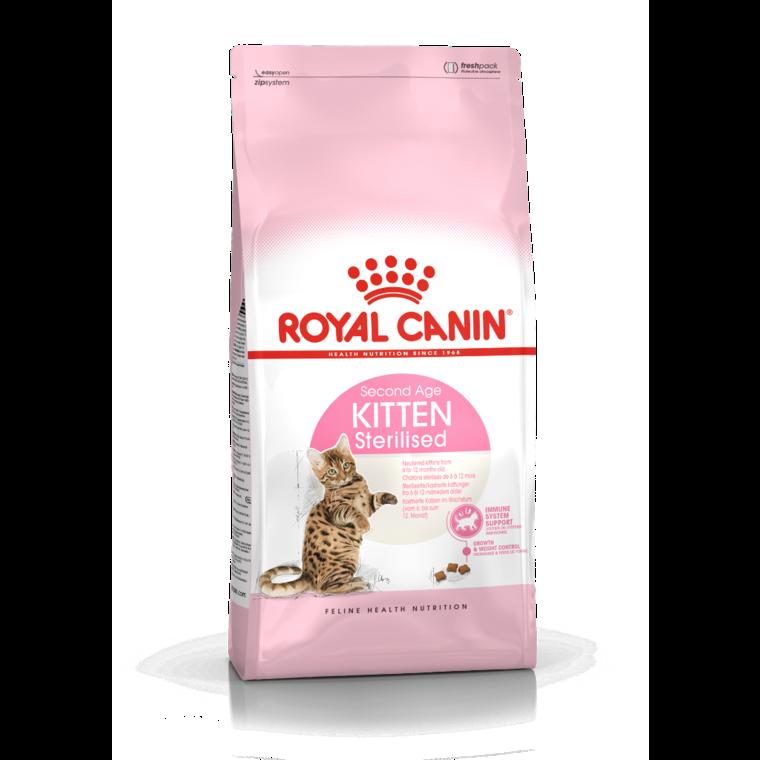Croquettes Royal Canin Kitten sterilised 400 g 53464