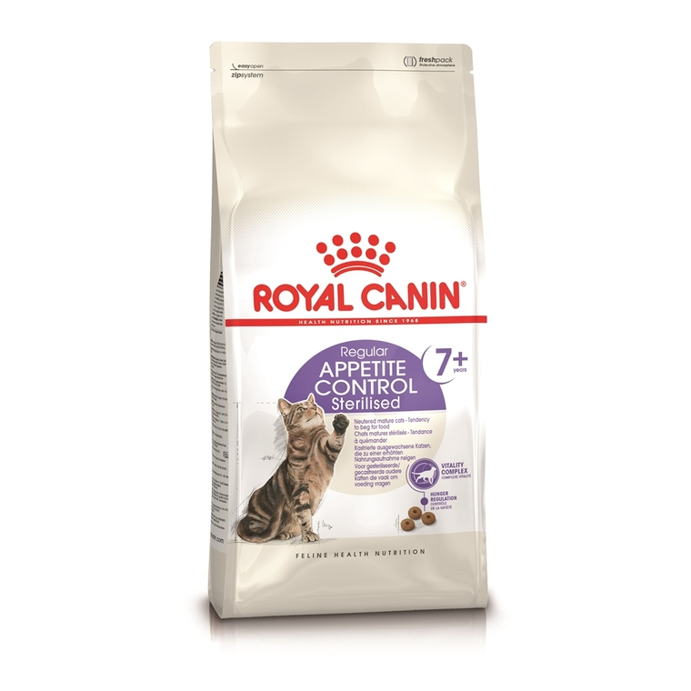 Croquettes Royal Canin Appetite Control Sterilised7+ 1,5 kg 53471