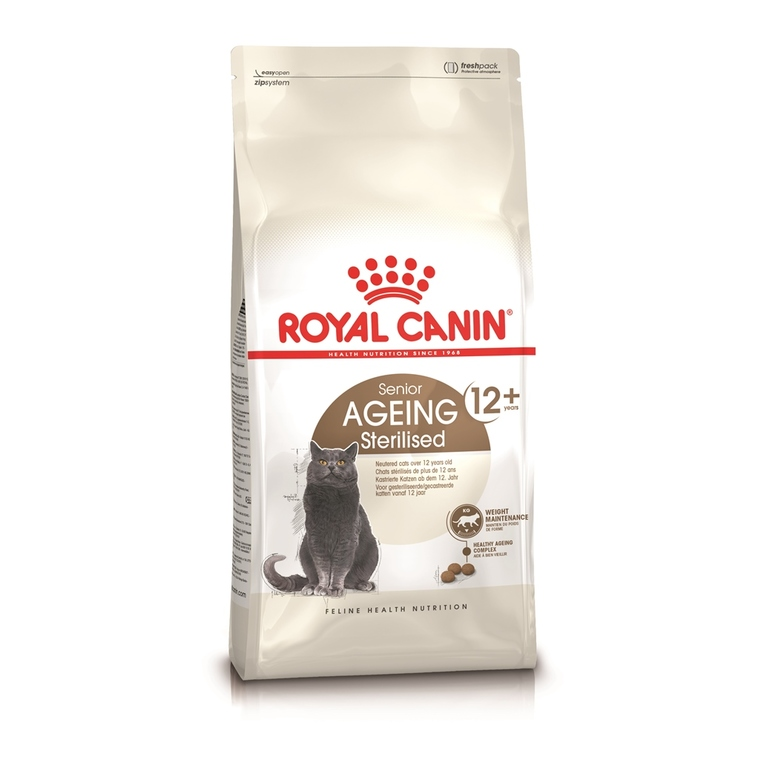 Croquettes Royal Canin Ageing Sterilised12+ 400 g
