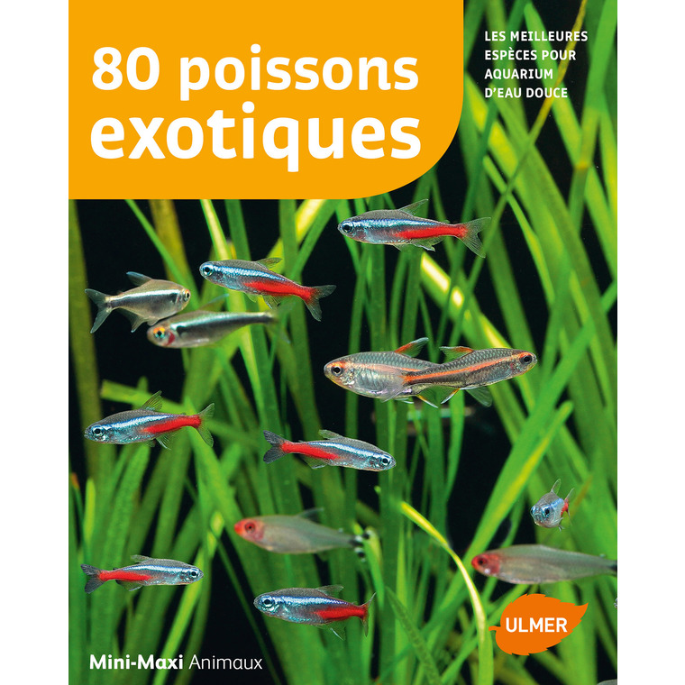 80 Poissons Exotiques 64 pages  Éditions Eugen ULMER 535071