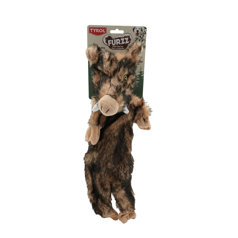 Jouet pour chien sanglier furry skinneeez - 50 cm 535152