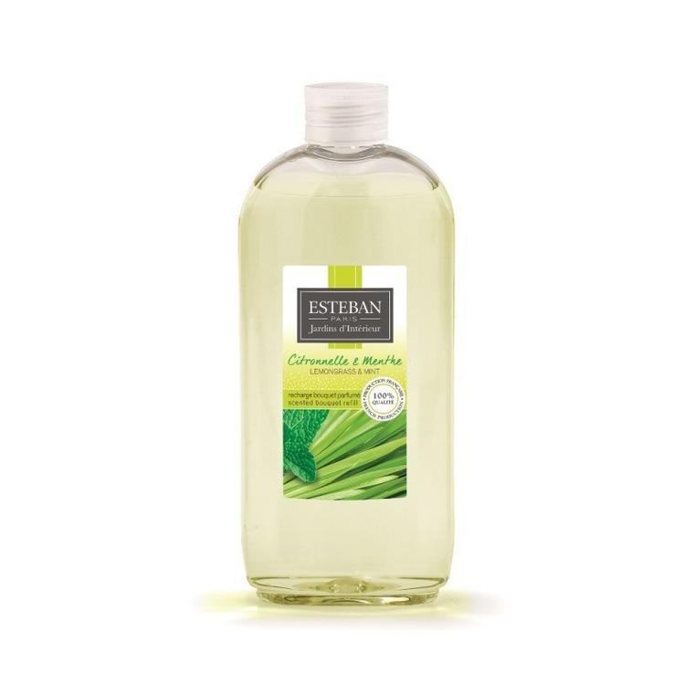 Recharge pour bouquet parfumé citronnelle et menthe en flacon 300 ml 535504