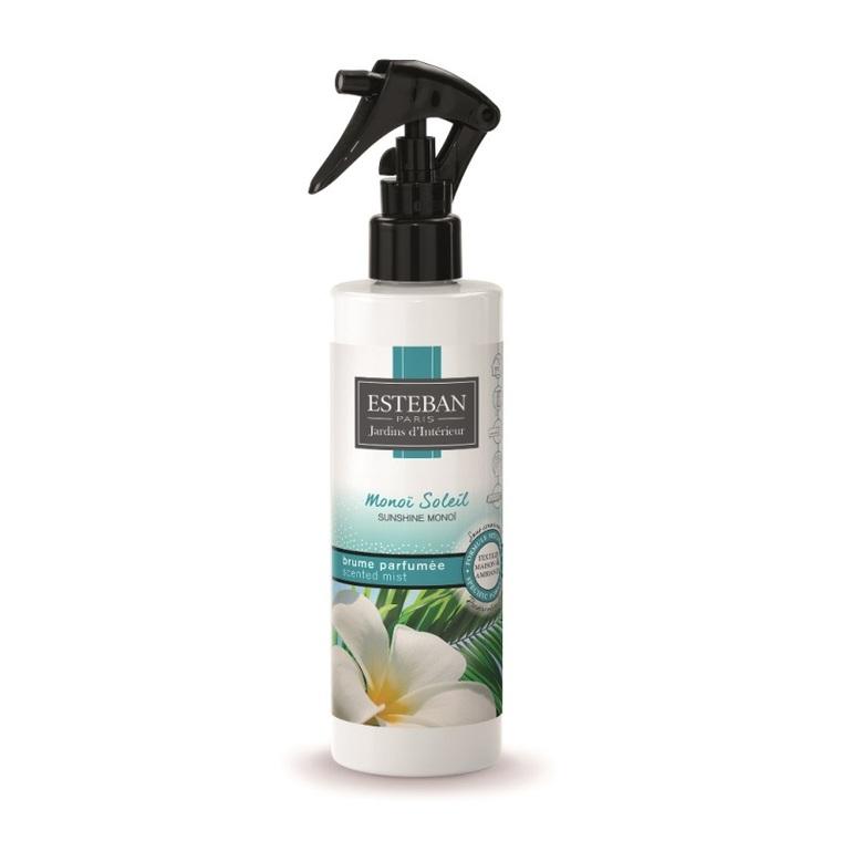 Brume parfumée monoï soleil pour textiles et maison 250 ml 535509