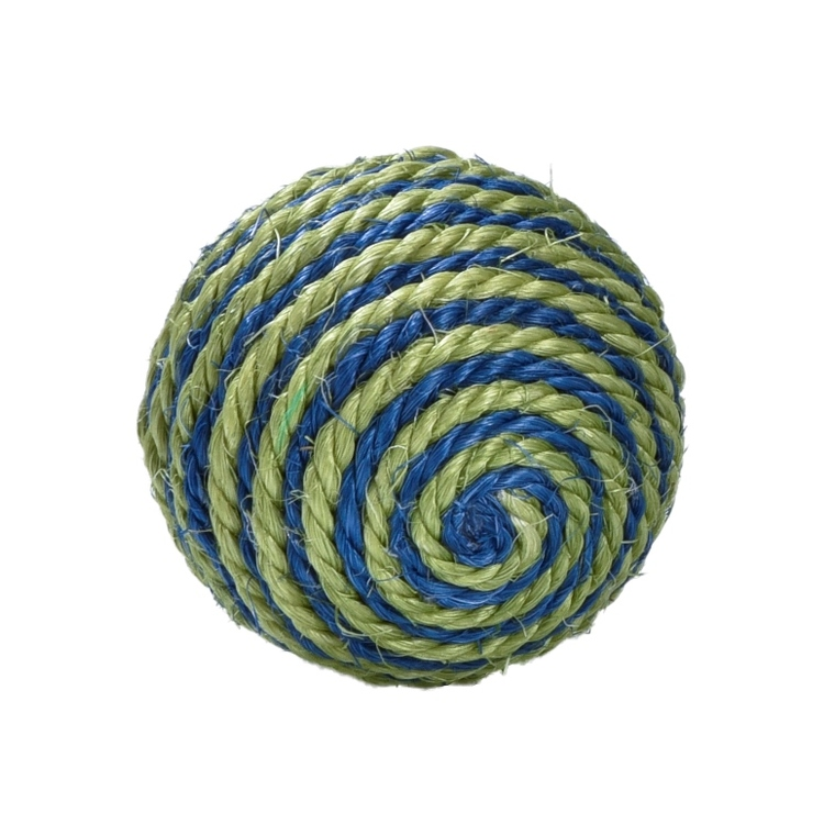 Balle Enjoy en sisal vert Ø 7 cm 535892