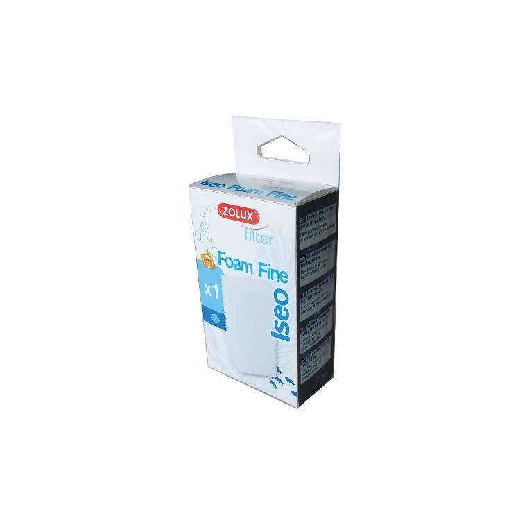 Cartouche de filtration en mousse Iseo Foam fine bleue 5,6x3x9,7 cm 535921