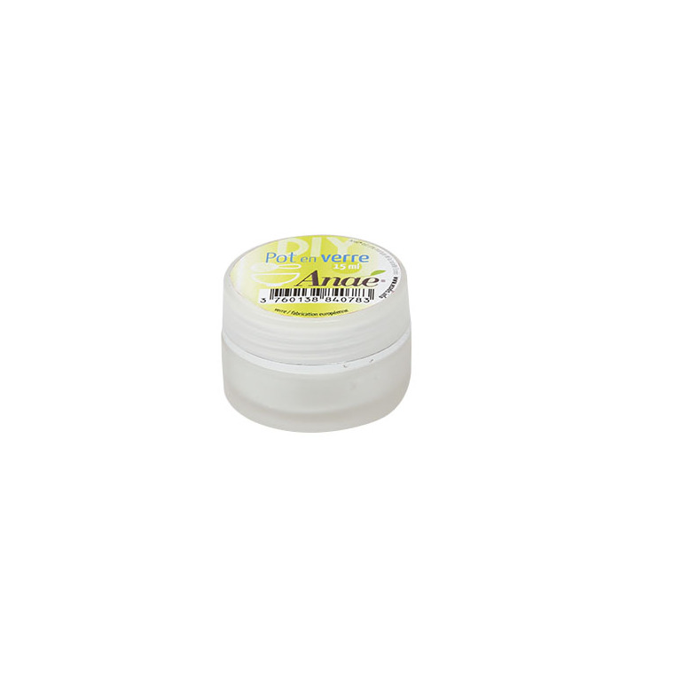 Pot en verre de 15 ml 536440
