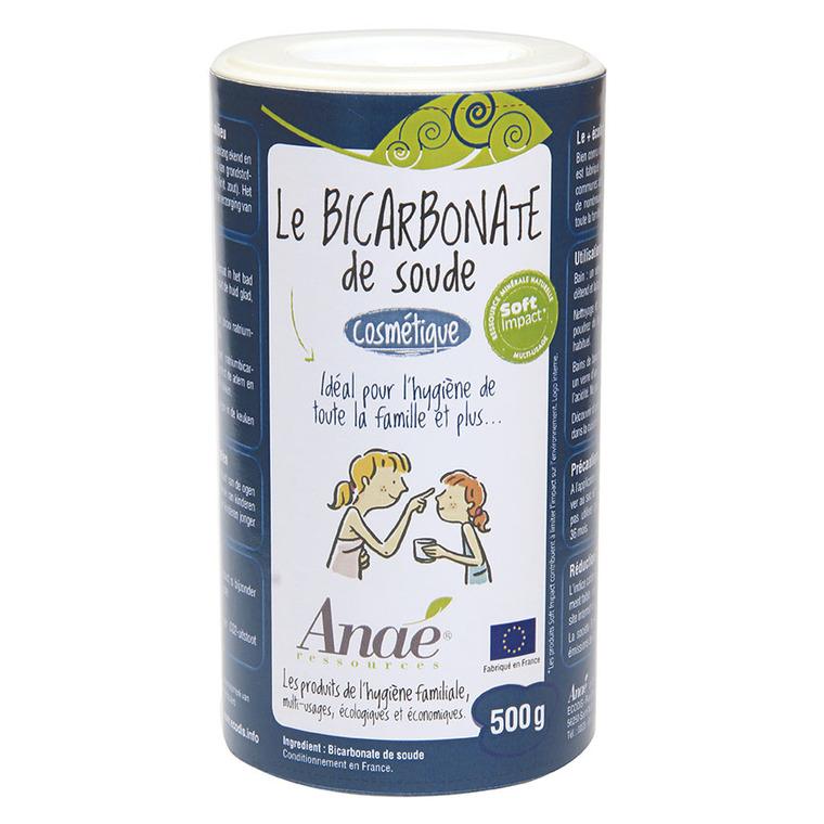 Bicarbonate de soude cosmétique en tube carton de 500 g 536456
