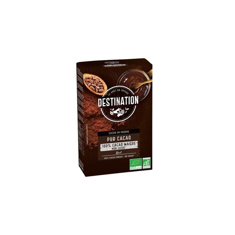 Cacao maigre 10-12% MG sans sucre 250 g 53889