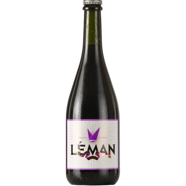 Bière brune Léman 75 cl 54571