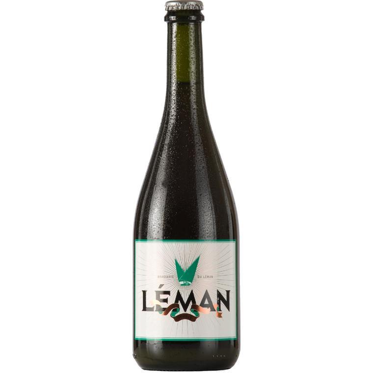 Bière ambrée Léman 75 cl