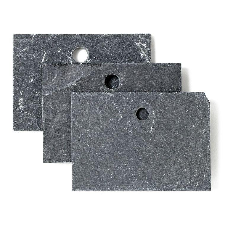 Etiquettes à suspendre en Ardoise x3 - 7x5 cm 54654