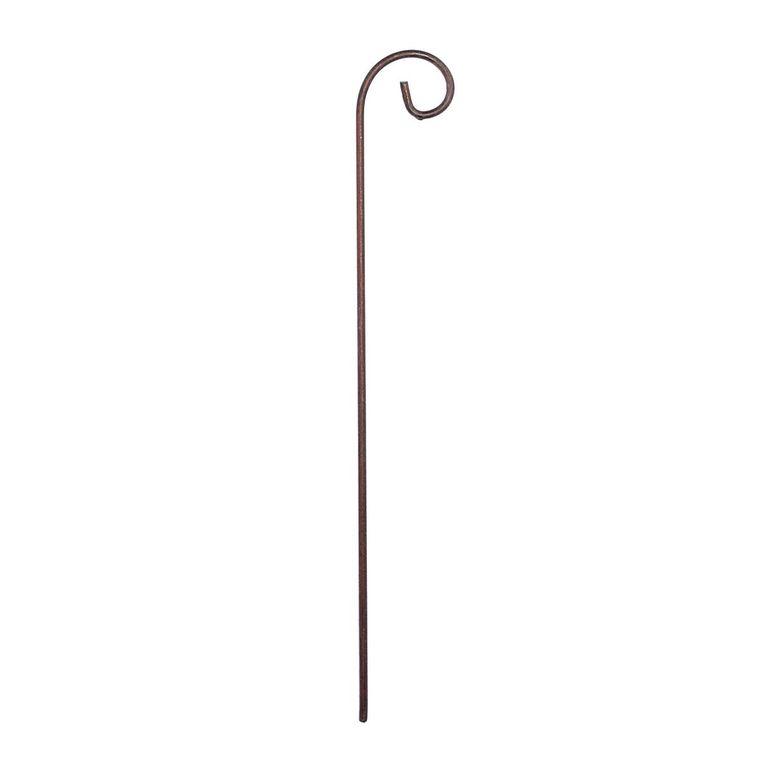 Porte étiquette en acier - 50 cm 54656