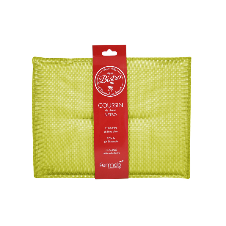 Coussin Bistro Fermob - coloris Verveine 28 x 38 cm 55143