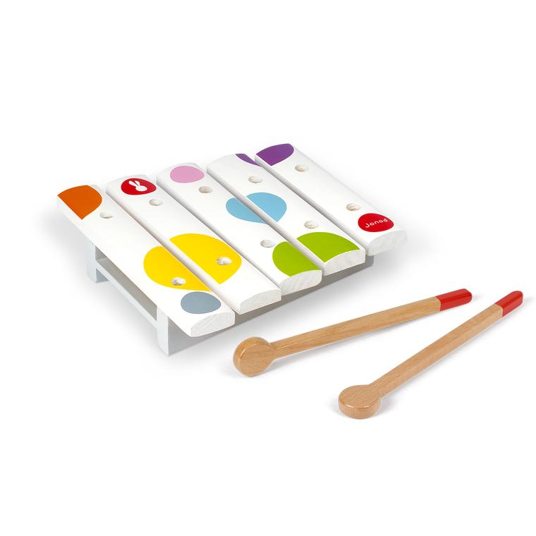Mini xylophone Confetti en bois – 1 à 3 ans 552171