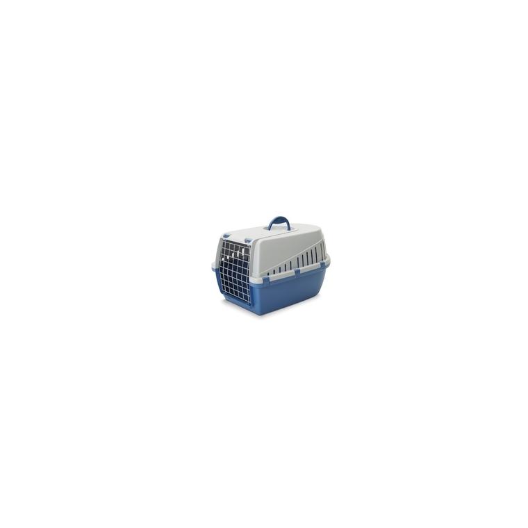 Cage de transport Trotter 1 bleu 49x33x30 cm 556143