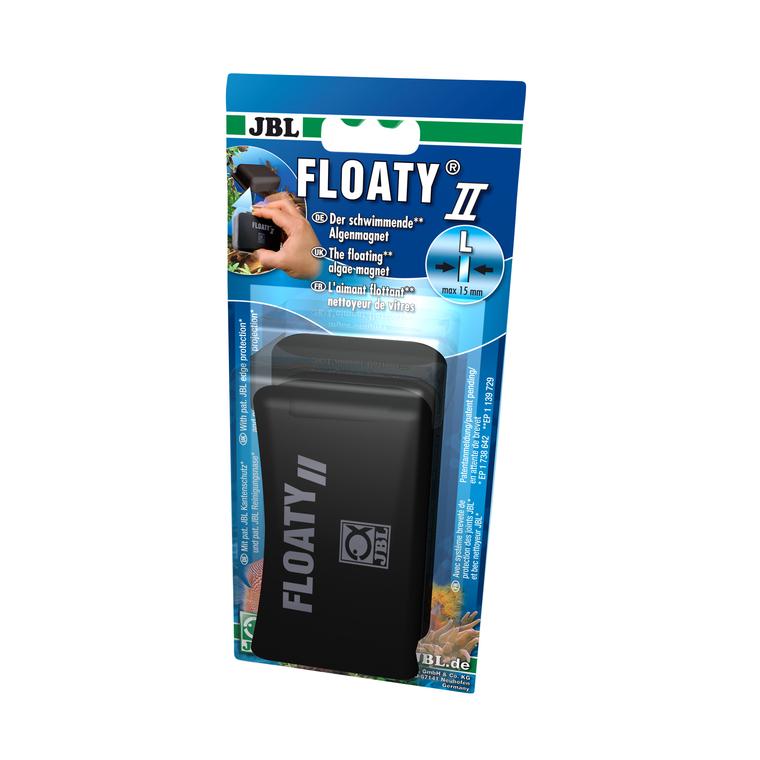 Nettoyeur de vitre Floaty II pour aquarium Grand modèle 556162