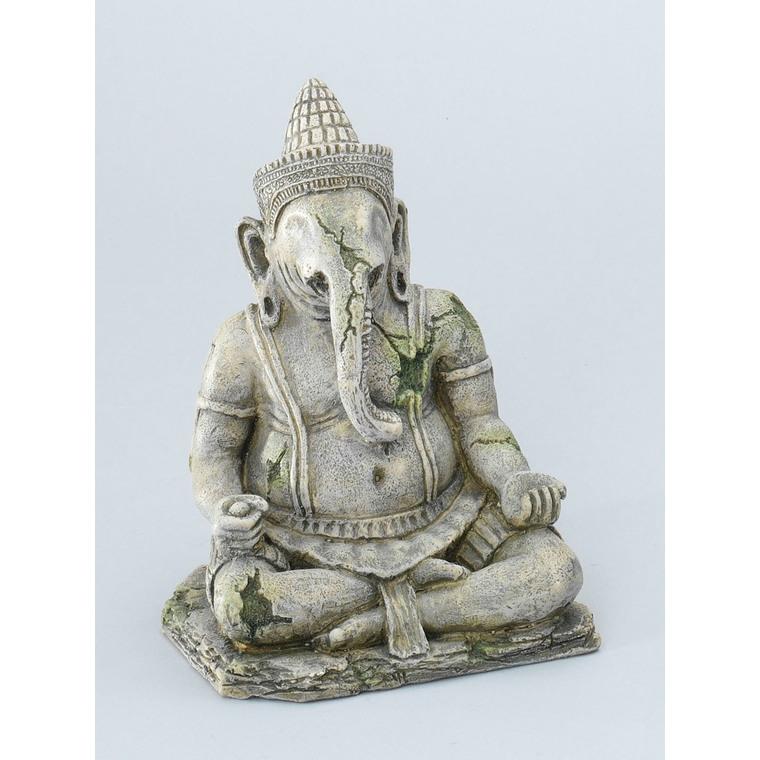 Statue Angkor god pour aquarium gris 13x11,5xH17 cm 557158