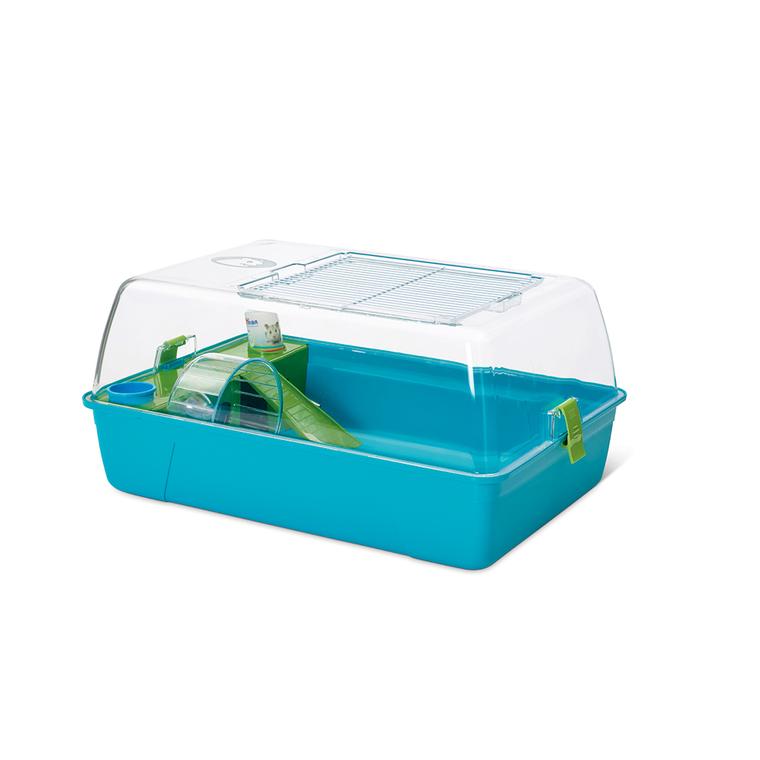 Cage Rody Hamster Bleu 55x39x26 cm 557256
