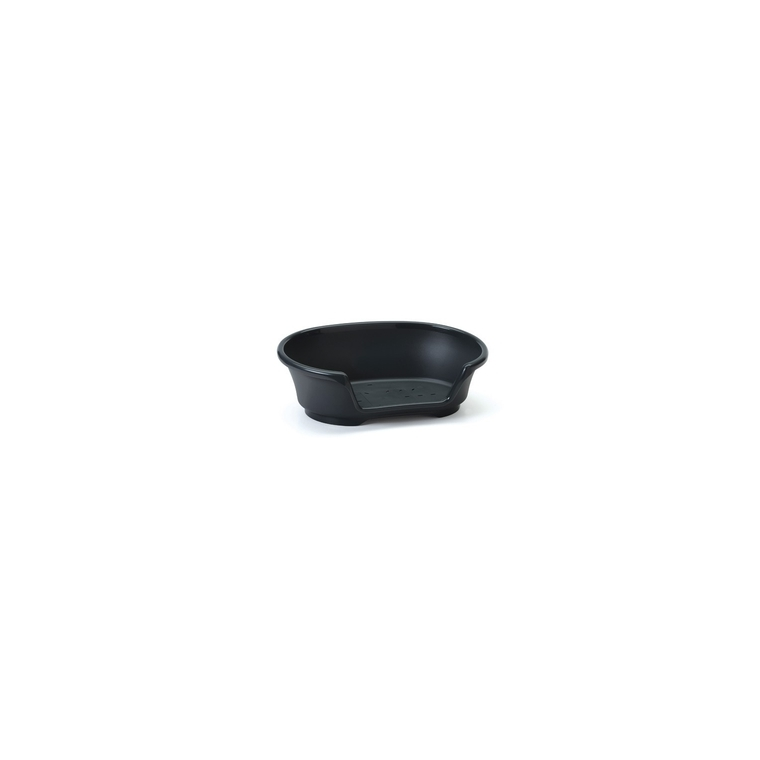 Corbeille plastique chien Cosy air 55cm noire
