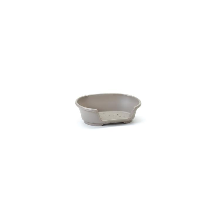 Corbeille en plastique Cosy Air gris - 104x70x30 cm 557354