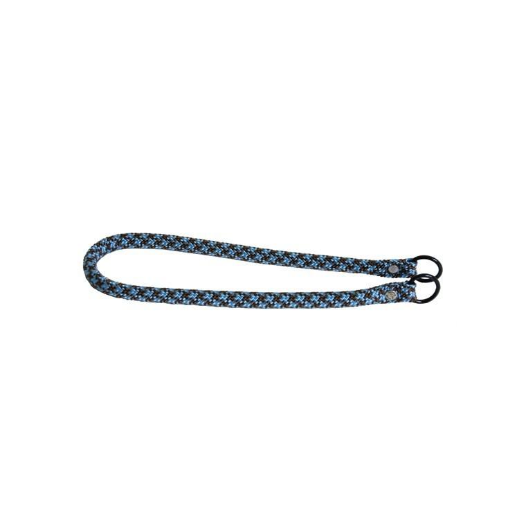 Collier chien étrangleur 13mm / 65cm bleu 558362