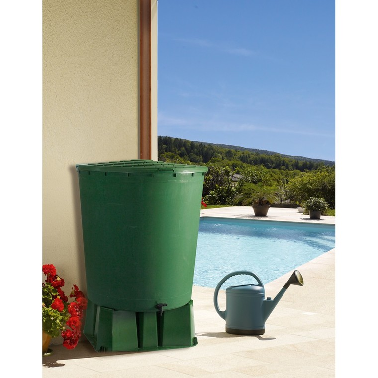 Socle pour récupérateur à eau 500 L 560611