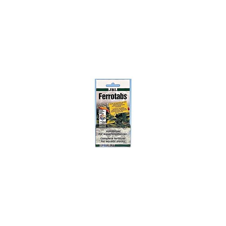 Comprimés d'engrais ferropol tabs Jbl vert x 30 56785