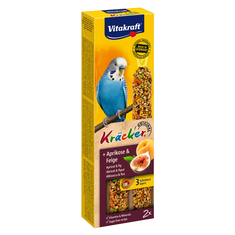 Kräcker fruits x2 Perruches VitakraftŽ 60g