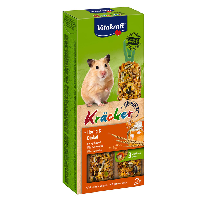 Baguettes hamster miel x2 56922