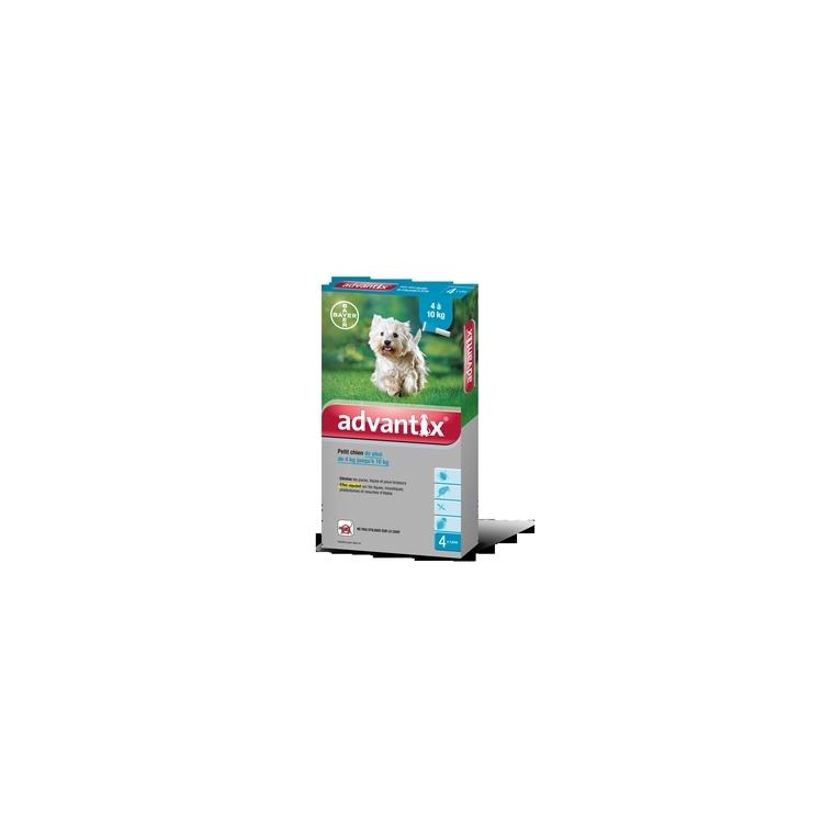 Advantix pour chien taille S 4 pipettes 573992