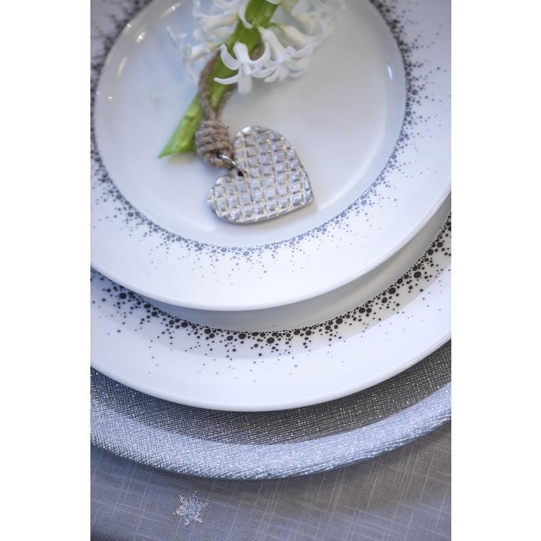 Assiette à dessert Borealis en porcelaine Ø 22cm 575963