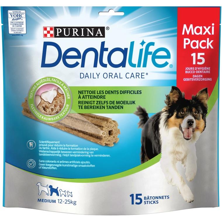 Snack à mâcher Dentalife Medium pour chien de taille moyenne 345 g 576815