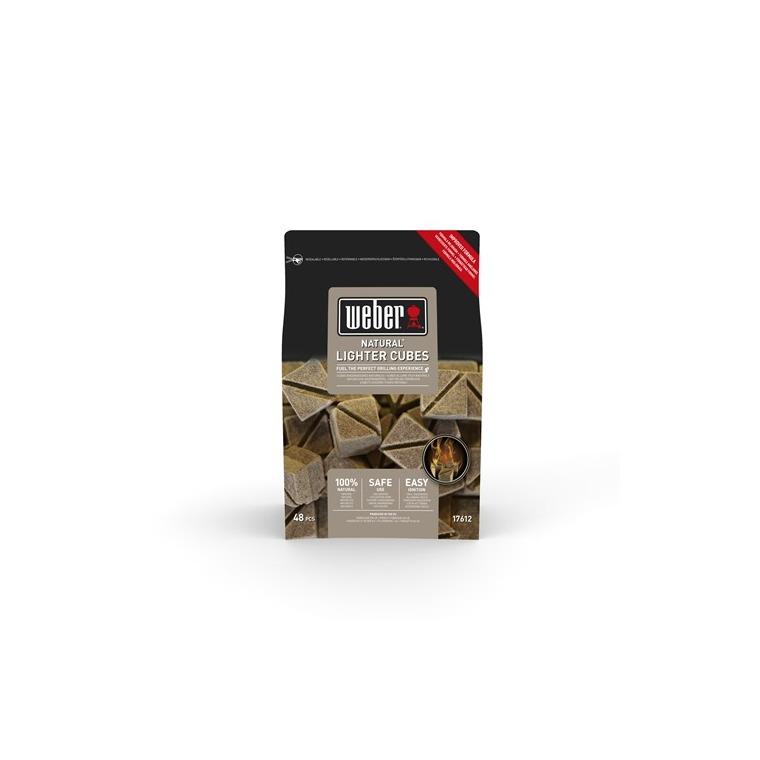 Boite de 48 cubes allume feux bruns 577128